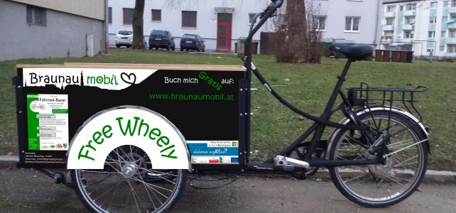 Lastenrad – Gratisverleih für Braunau kommt